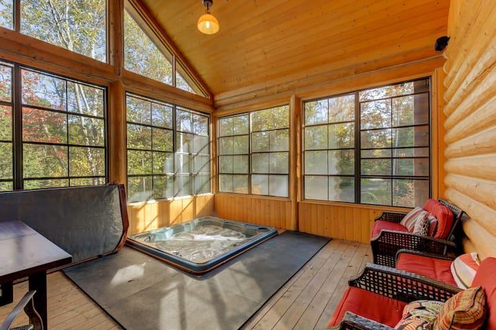 ChaletsOasis Luxury Cozy Log Home Deer6
