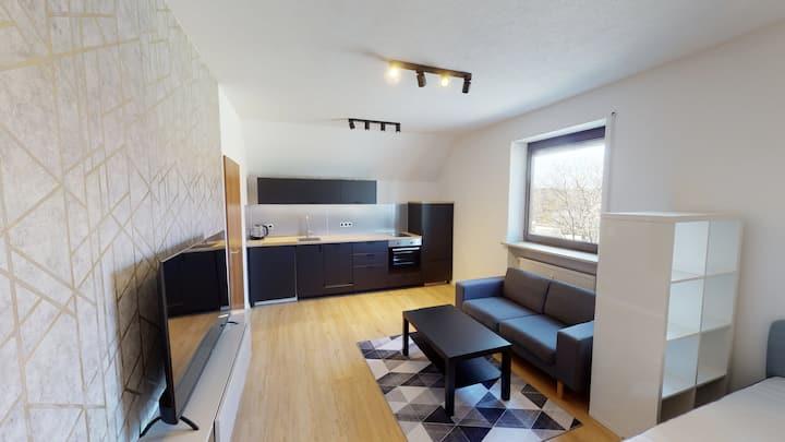 Modernes vollmöbliertes Appartment mit Stil