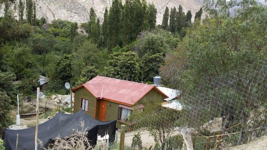 Cabaña VERDE Hijuela 37 Quebrada de Paihuano