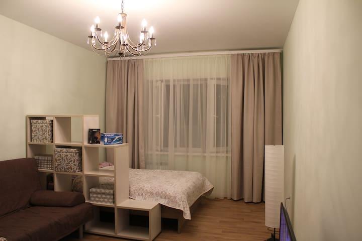 Новая однокомнатная квартира в Казани - คาซาน - อพาร์ทเมนท์