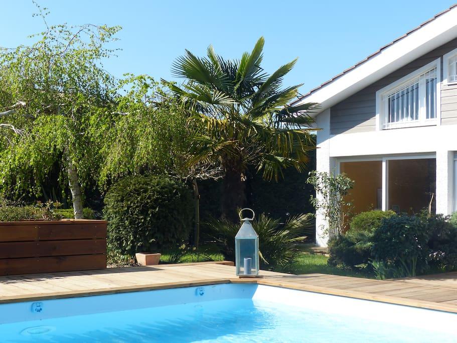 La piscine 9x4 m