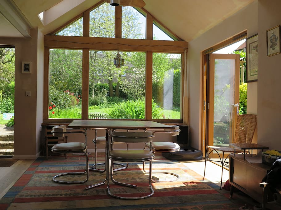 The garden room - always a lovely place to be