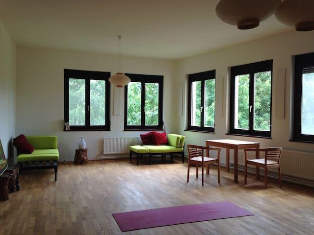 einzimmer/küche/bad  77m2;  grün - Zurndorf - Apartamento