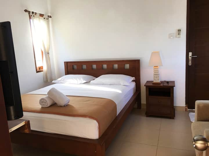 cozy Rooms with rice view Near Medewi Surf Poin
