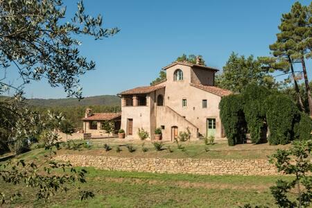 Villa l'Eremo, privacy guaranteed - Monte San Savino - Rumah
