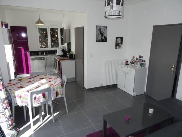 Bel appartement ,pres centre village