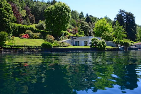 VILLA VOLPE directly on Orta, stunning location - Orta San Giulio - Natur-Lodge