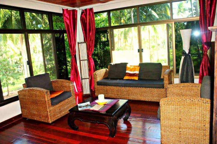 Semi Private Room in Yoga House Koh Phangan