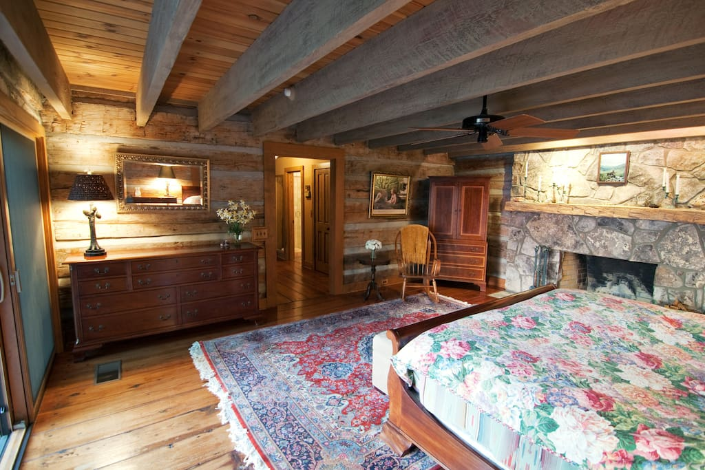 The Master's Suite with Stickley furniture