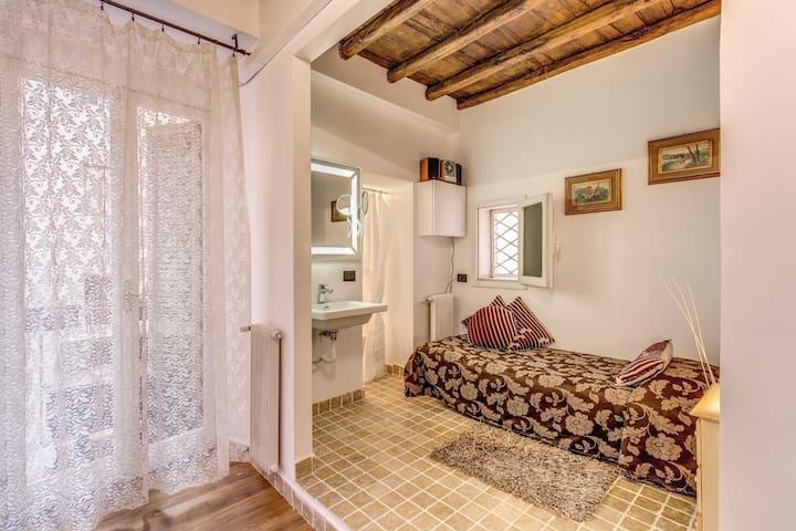Suite In Rome Corso - Camera singola con balcone