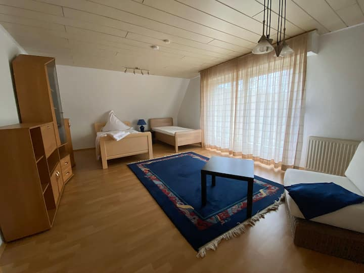 Room in nature reserve/ Messe Köln/Phantasialand