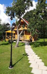 Beautiful private farmhouse near Kaunas