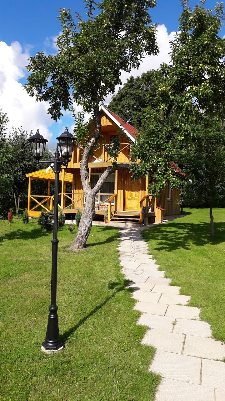 Beautiful private farmhouse near Kaunas