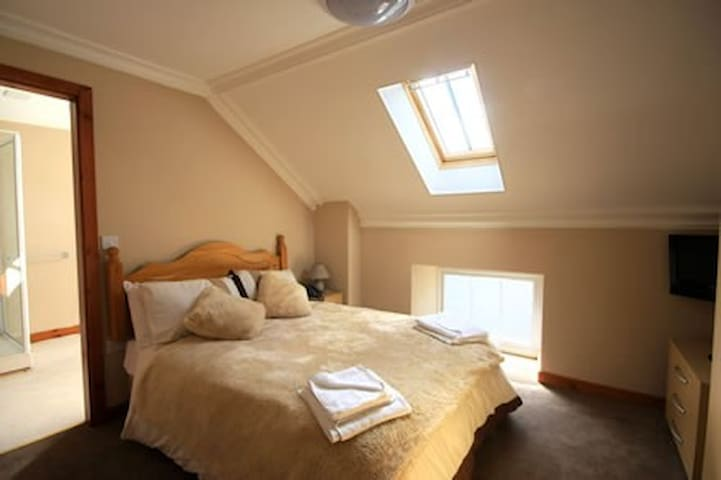 Pisgah Guest House: Double Bedroom En Suite