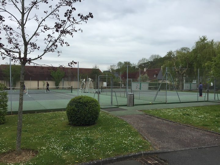 Deauville 3 Rooms, pool, tennis