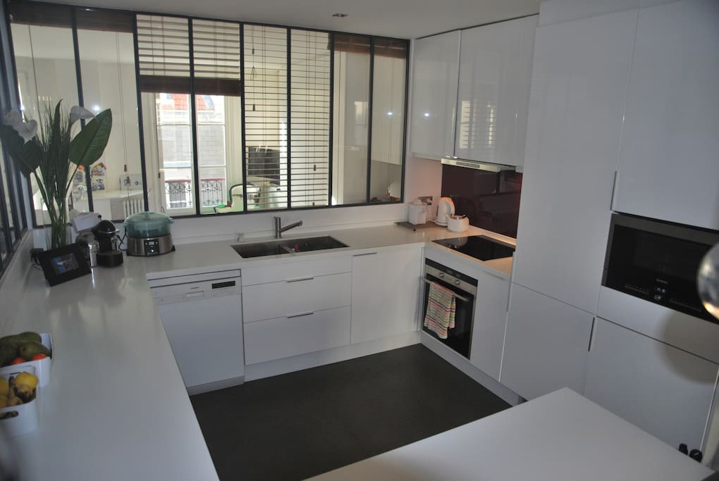Large fully equiped kitchen!
