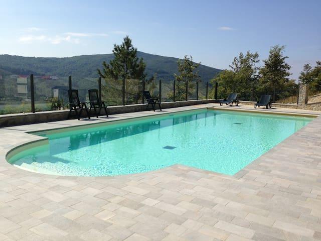 Villa La Verna app. Gaia - Chiusi della Verna - Daire
