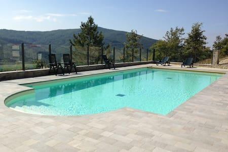 Villa La Verna app. Gaia - Chiusi della Verna - Departamento