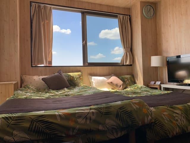 Near OSAKA NAMBA! luxury hotel style!  Free WiFi!