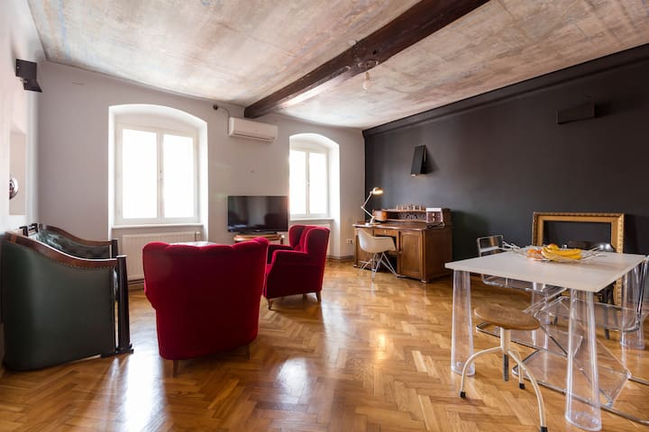 Hip apartment in the center of Zagreb !!