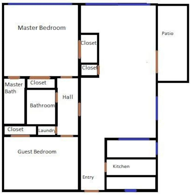 spacious floorplan