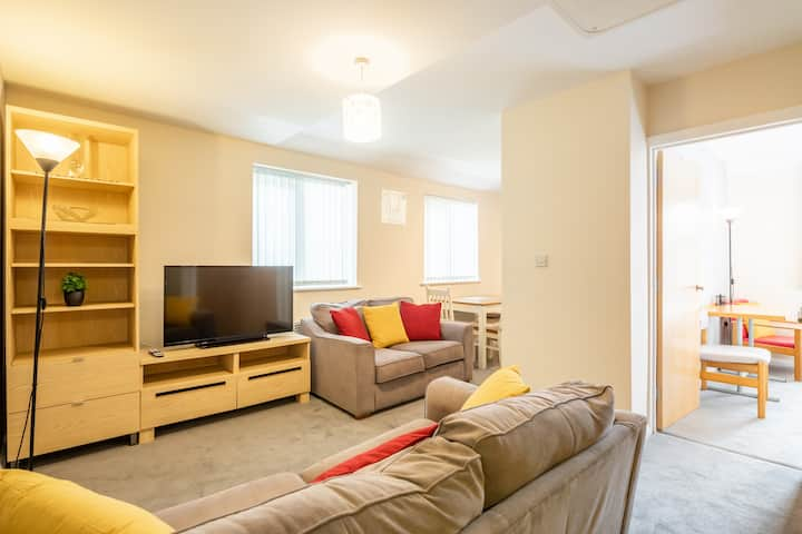 Comfy and Cosy Central Cambridge Flat For 4 !