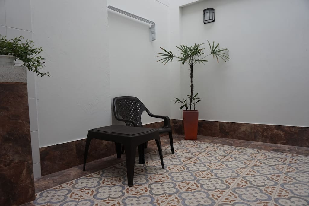 Patio privado
