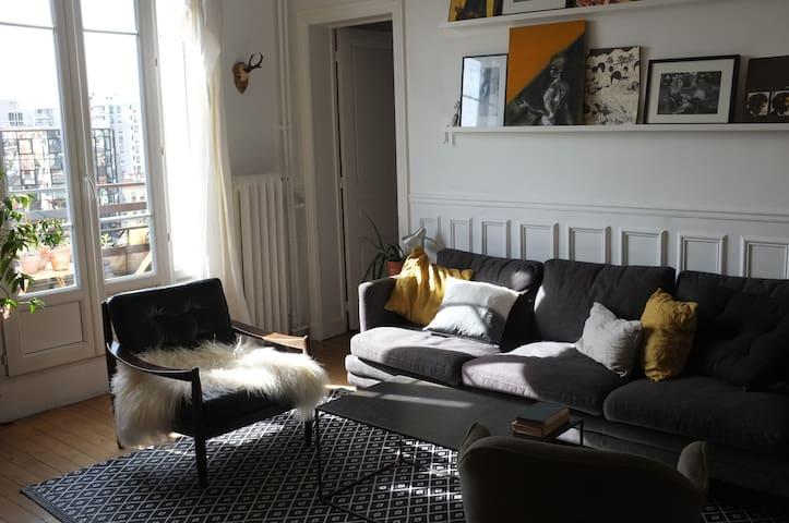 Appartement chaleureux et lumineux - Montreuil - Appartement