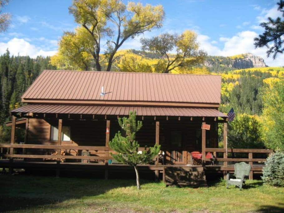 amazing cabin on the conejos river cabins for rent in