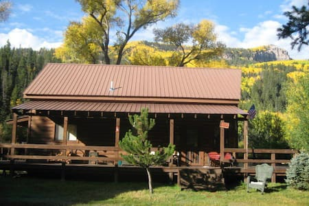 Amazing Cabin on the Conejos River! - Antonito
