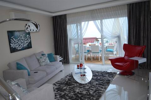 Avsallar Elite Stunning Sea View Penthouse- Alanya