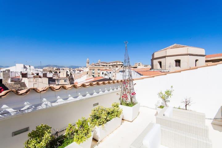New Loft With Amazing Terrace - Palerme - Loft