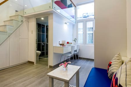 ★  Loft Apartment by Ben Thanh ★ - Ho Chi Minh City - Loteng Studio
