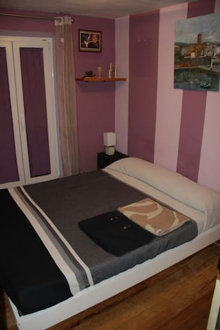 Center Zarautz. One doble bed in a private room. - Zarautz - Haus