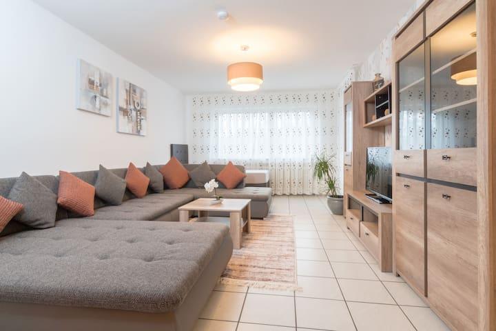 """110 qm Wohnung """"Scarlett"""" mit großem Balkon"""