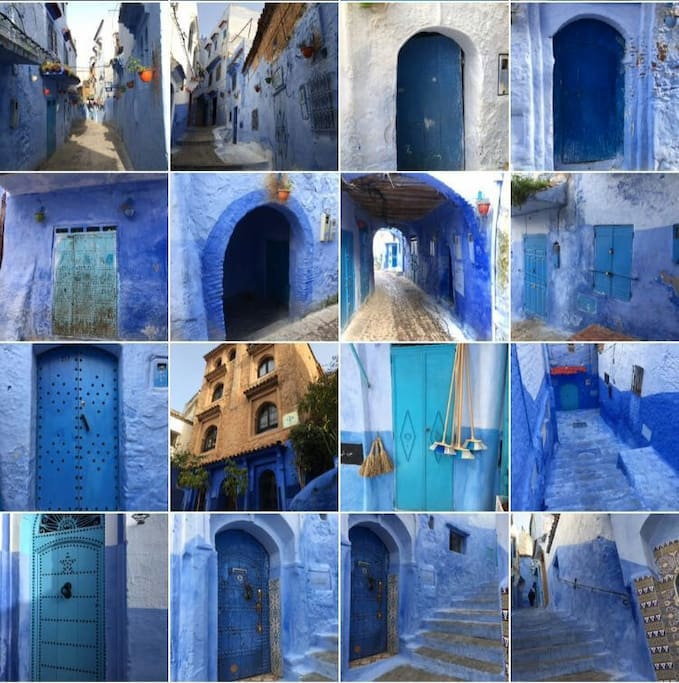 Chefchaouen, the Blue Pearl. Photo credit: Liva Judic, one guest