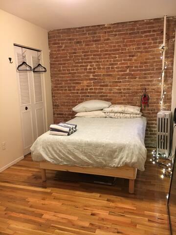Spacious & Cozy Carroll Gardens 1 Bedroom apt - Brooklyn - Apartamento