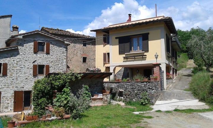 Casa de campaña en Toscana