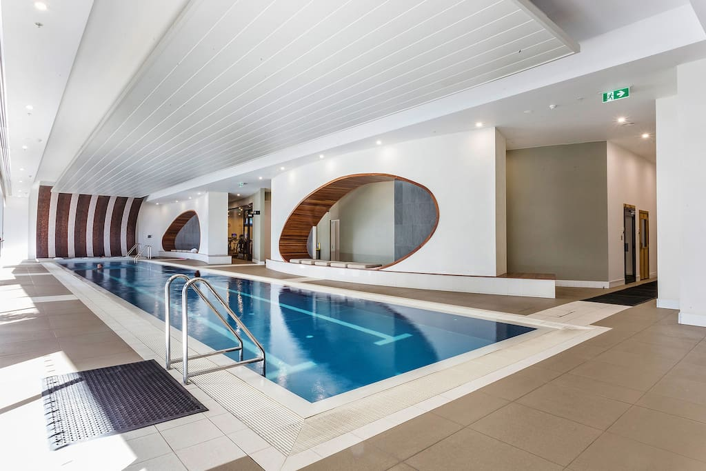 Enjoy the architecturally designed pool and gymnasium area boasting hot tub, sauna, steam room and full y equipped gymnasium