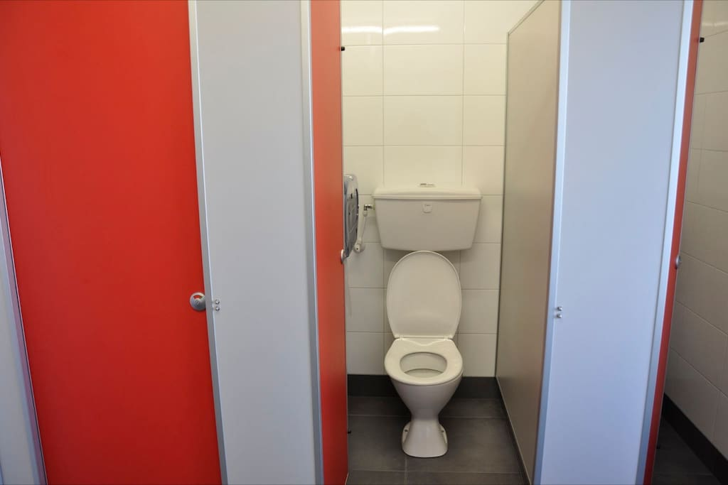 Female and Male toilets