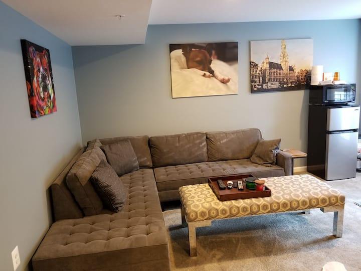 Exquisite Basement Suite (No Smoking)