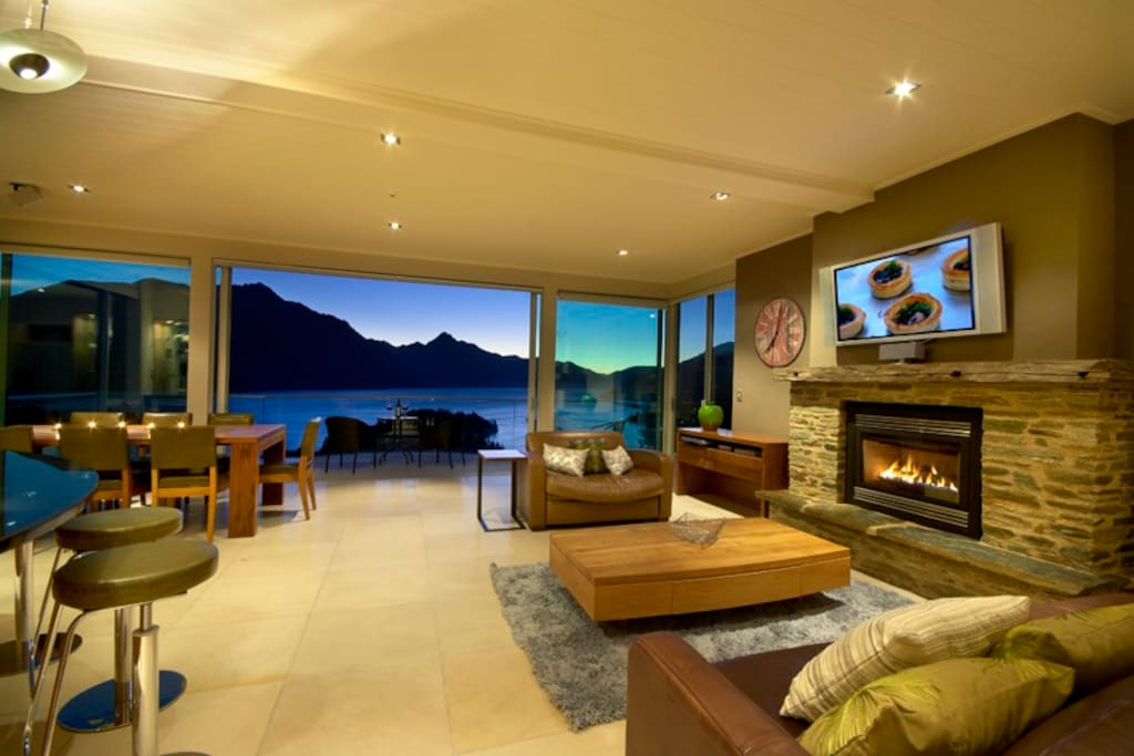 Panorama on the terrace lake views houses for rent in for 5 the terrace queenstown