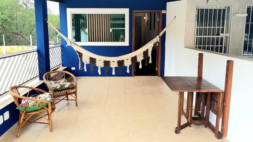 Casa do Guaraú 2 suítes a 500metros da praia
