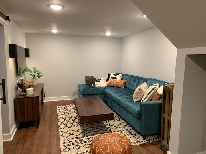 Vintage-Modern Basement Suite in S. Minneapolis!