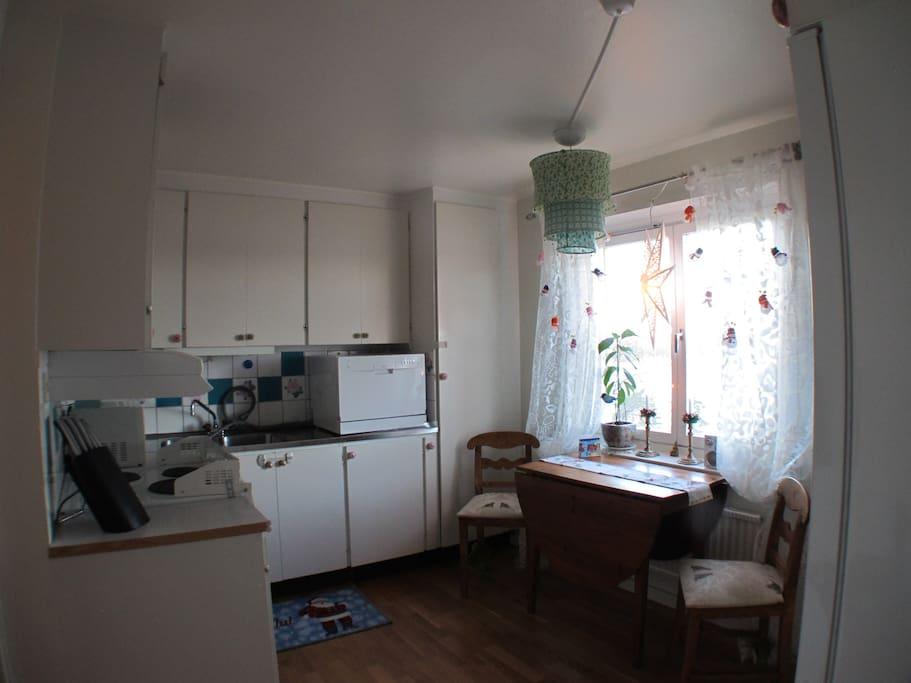 Kitchen from sleepingroom