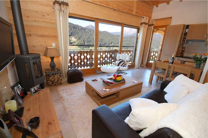 Morzine Ski Chalet With Amazing Mountain Views