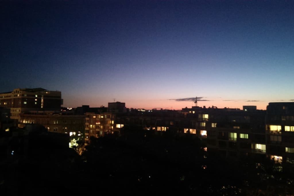 View out from my balcony