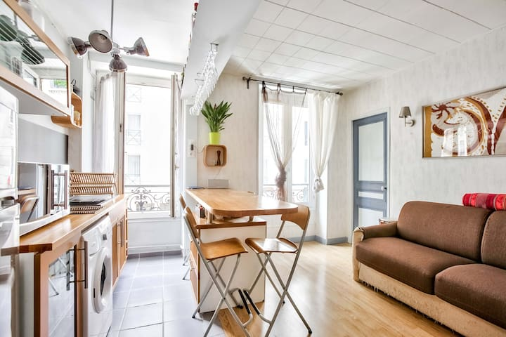 Charming apartment ●Paris 18●