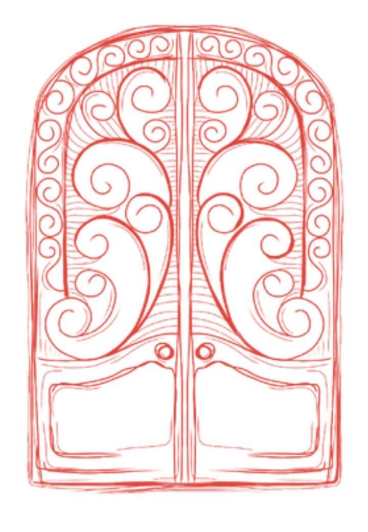 Red Door Garden House
