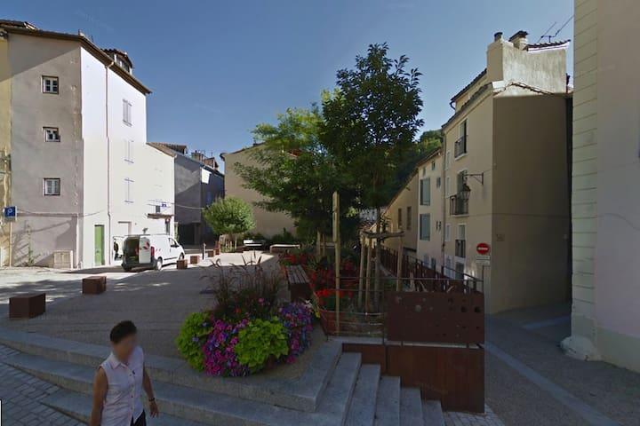 Chez l'habitant dans le centre historique - Foix - Rumah